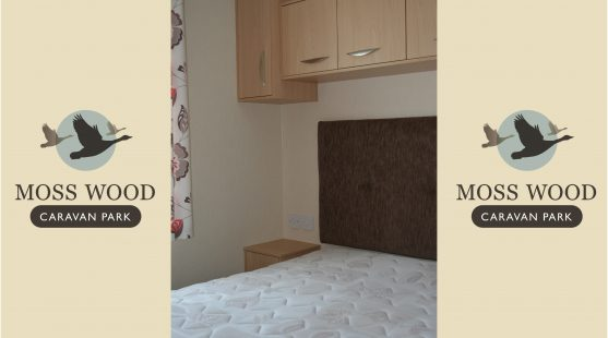Master Bedroom of Pemberton Elite Caravan at Moss Wood Caravan Park