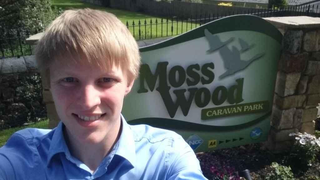 Neil Darby at Moss Wood Caravan Park