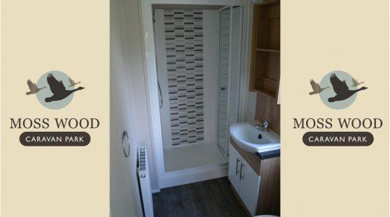 Bathroom of Willerby Granada at Moss Wood Caravan Park