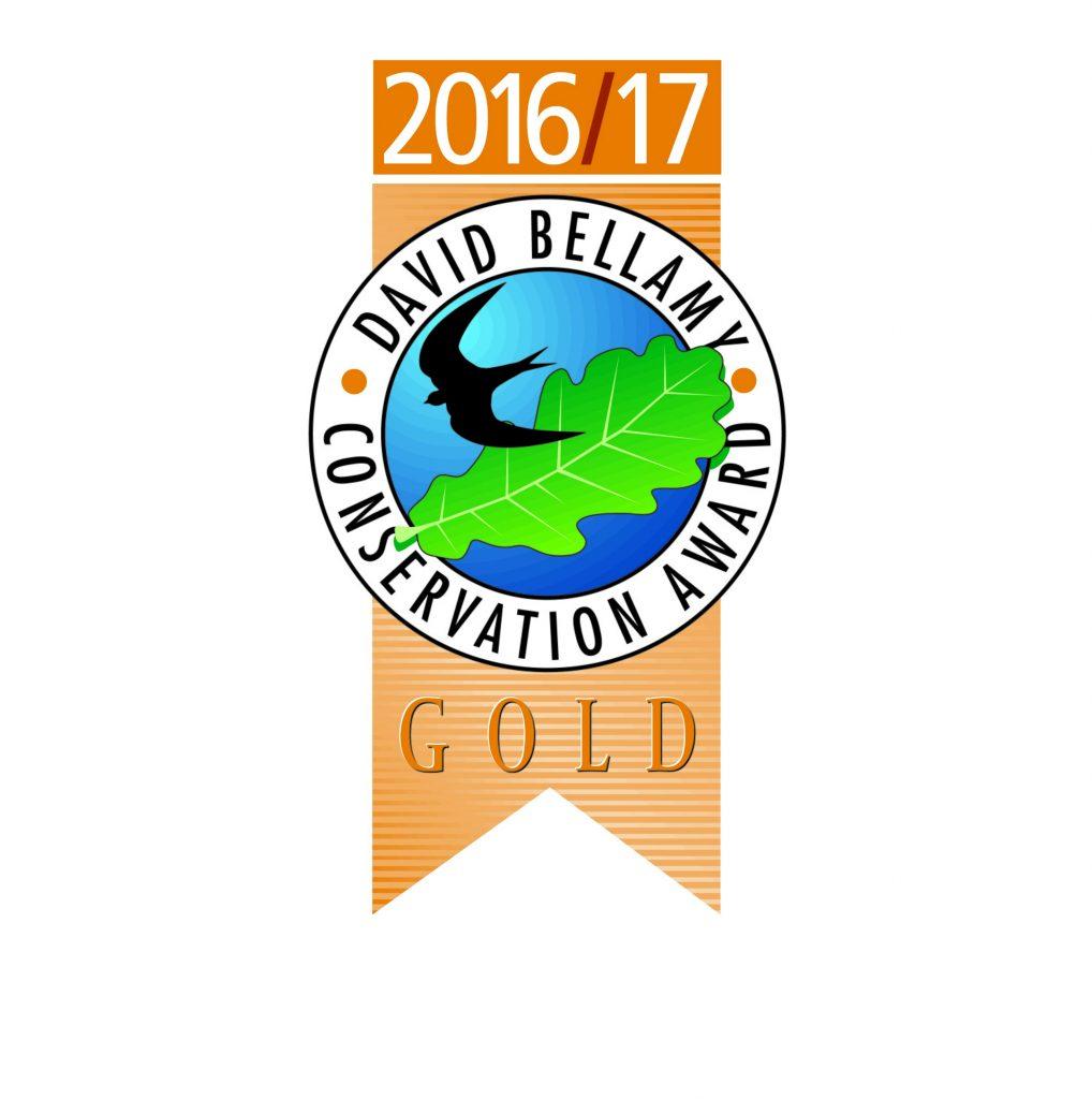 Moss Wood Caravan Park David Bellamy Conservation Award 2016