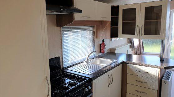Willerby New Hampton 2012 kitchen