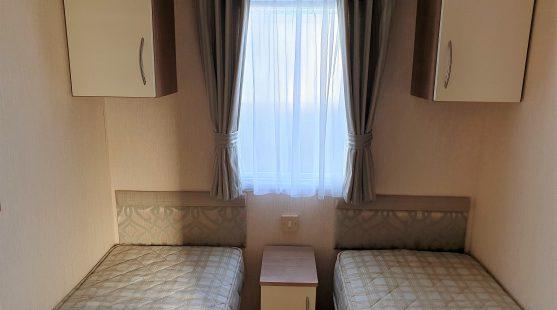 Willerby New Hampton 2012 twin bedroom