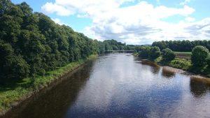 River along Avenham and Miller Parks