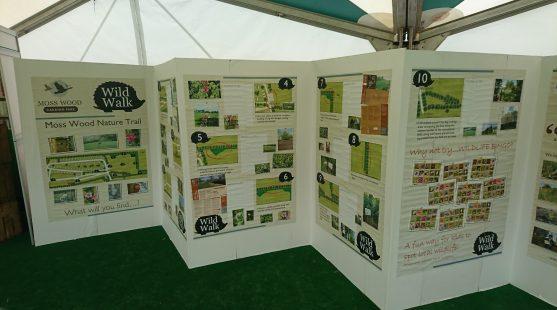 Moss Wood Wildlife Interactive Board
