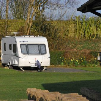 Touring at Moss Wood Caravan Park in Lancashire