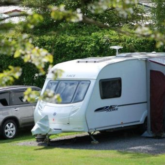 Touring Caravan pitch Lancaster