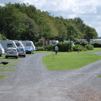 Touring at Moss Wood Caravan Park