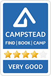 CampStead Logo - Very Good rated