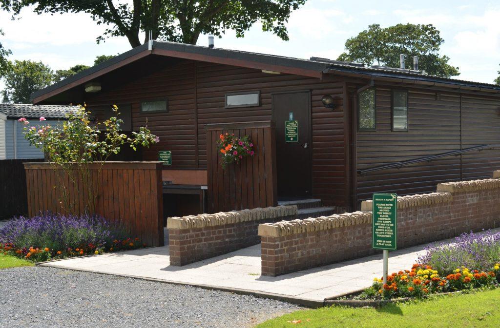 Toilet Block at Moss Wood Caravan Park