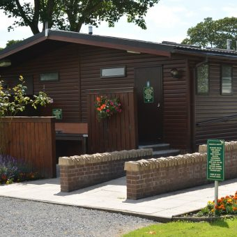 Toilet Block at Moss Wood Caravan Park