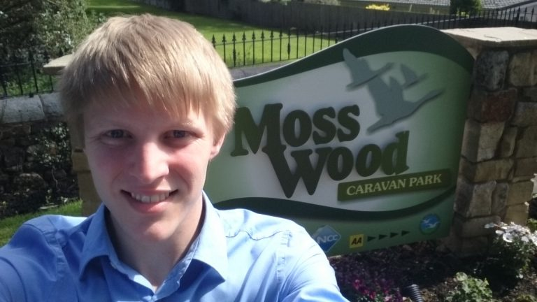 Neil Darby at Moss Wood Caravan Park