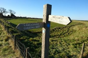 Take a walk along the Lancashire Coastal Way