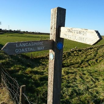Lancashire Coastal Way from Moss Wood
