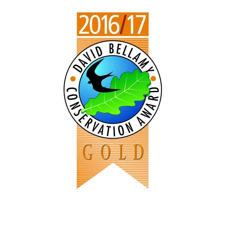 Moss Wood Caravan Park is a winner of the David Bellamy Conservation Award 2016