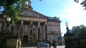 Visit Lancaster City Hall whilst staying at Moss Wood Caravan Park