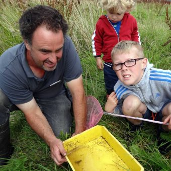 Wild Fun Day Pond Dipping with Chris