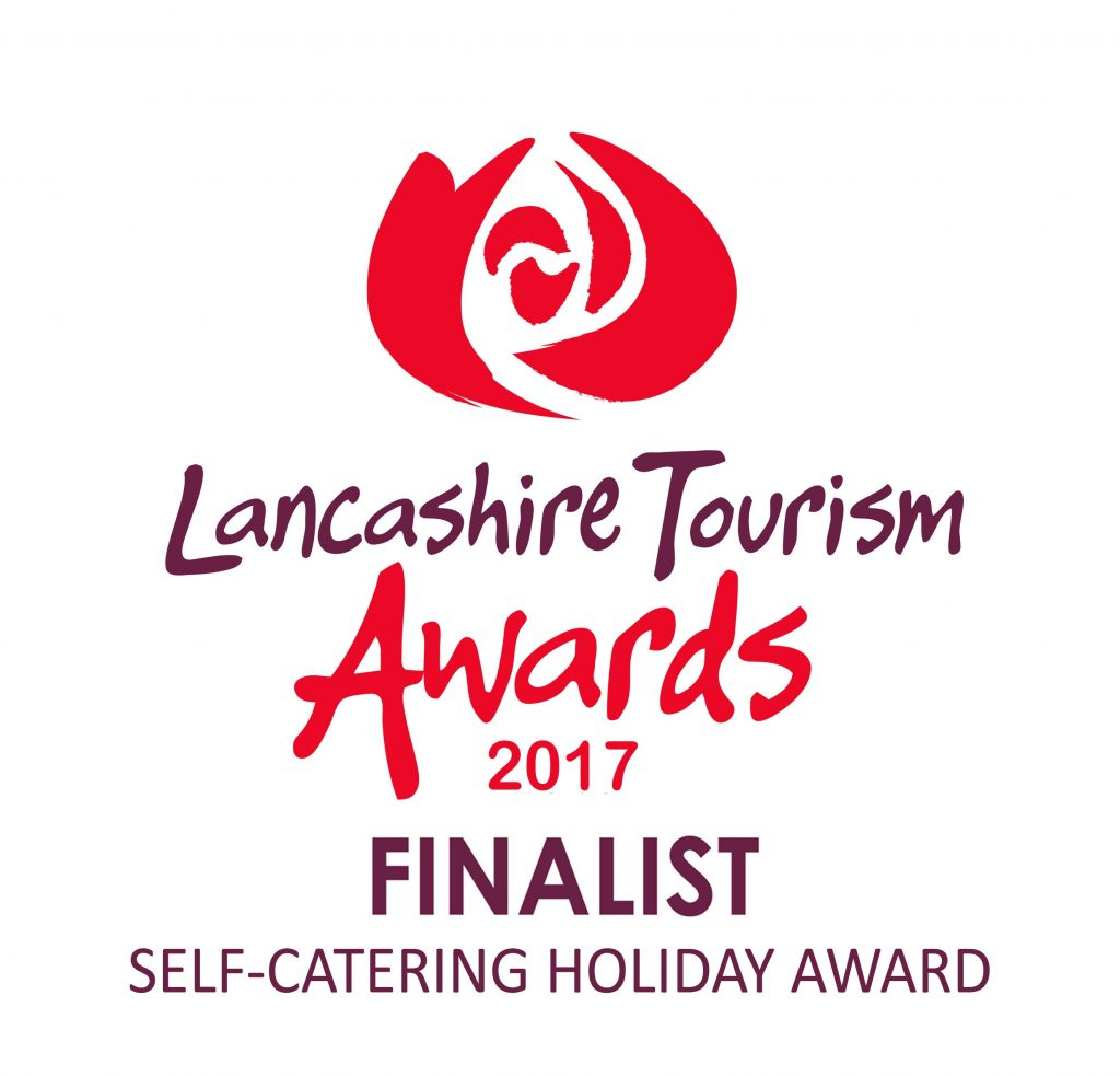 Lancashire Tourism Awards 2017 finalist logo SELF-CATERING HOLIDAY AWARD