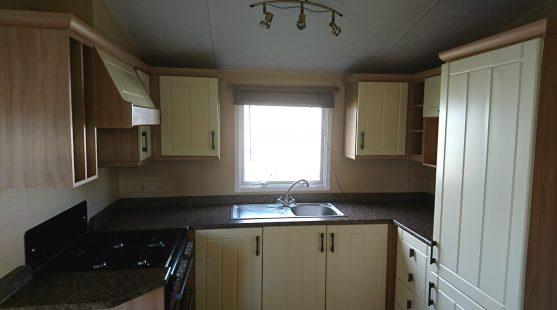 Willerby Leven 2008 kitchen