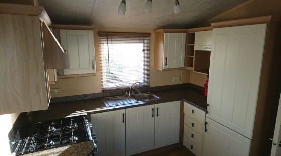 Willerby Leven 2010 kitchen