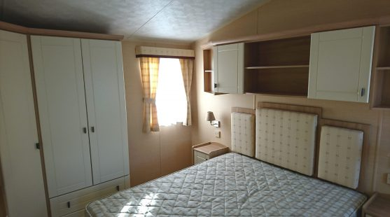 Willerby Leven 2010 master bedroom (view 1)