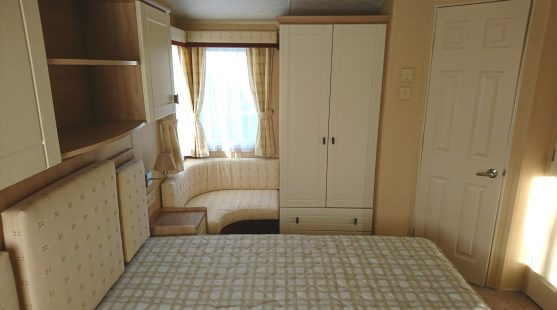 Willerby Leven 2010 master bedroom (view 2)