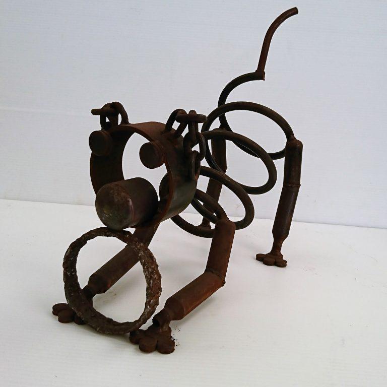 Frailloop - Recycled Metal Artwork - Dog