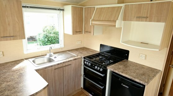 Willerby Rio 2010 kitchen
