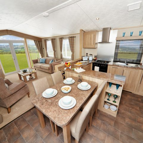 2019 Carnaby Helmsley Lodge Living Area