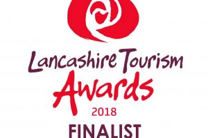 Lancashire Tourism Awards 2018 finalist logo SUSTAINABLE TOURISM AWARD