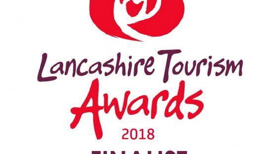 Lancashire Tourism Awards 2018 finalist logo SUSTAINABLE TOURISM AWARD