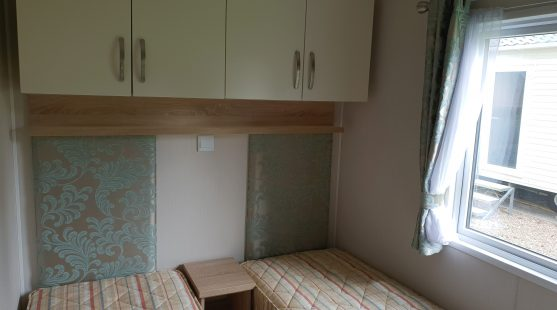 Willerby Avonmore 2016 twin bedroom